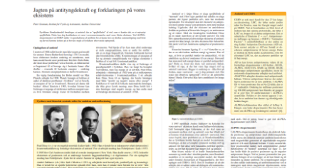 Outreach article in Kvant by Peter Granum